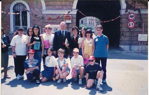 Foto degli alunni della scuola